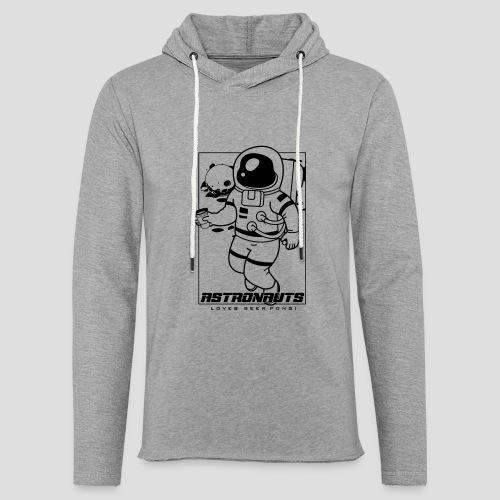 Astronauts loves Beerpong - Leichtes Kapuzensweatshirt Unisex