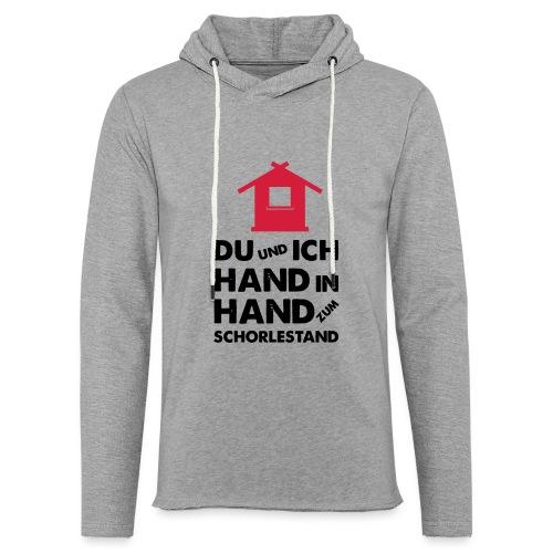 Hand in Hand zum Schorlestand / Gruppenshirt - Leichtes Kapuzensweatshirt Unisex