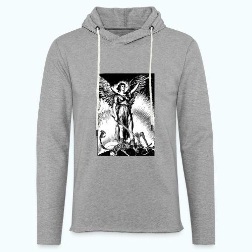 Vintage angel drawing - Light Unisex Sweatshirt Hoodie