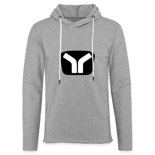 Yugo Logo Black-White Design - Light Unisex Sweatshirt Hoodie
