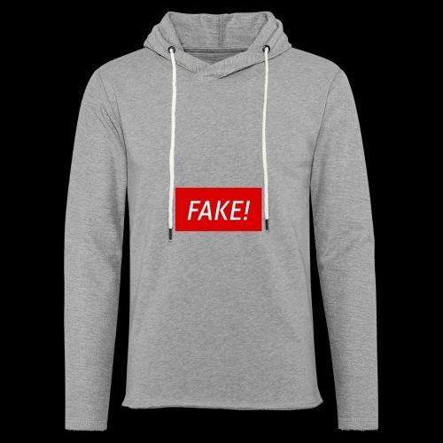 FAKE-Collection by ØNIC™ - Leichtes Kapuzensweatshirt Unisex