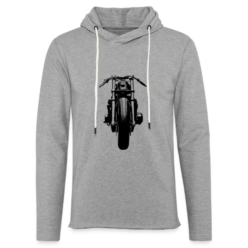 Motorcycle Front - Light Unisex Sweatshirt Hoodie