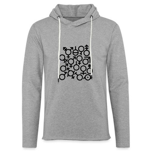 Multi Gender B/W - Lichte hoodie unisex