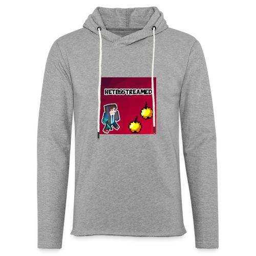 Logo kleding - Lichte hoodie unisex
