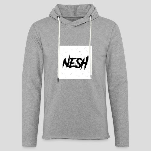 Nesh Logo - Leichtes Kapuzensweatshirt Unisex