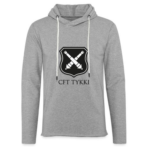 Tykki logo musta - Kevyt unisex-huppari