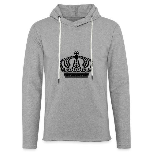 kroon keep calm - Lichte hoodie unisex