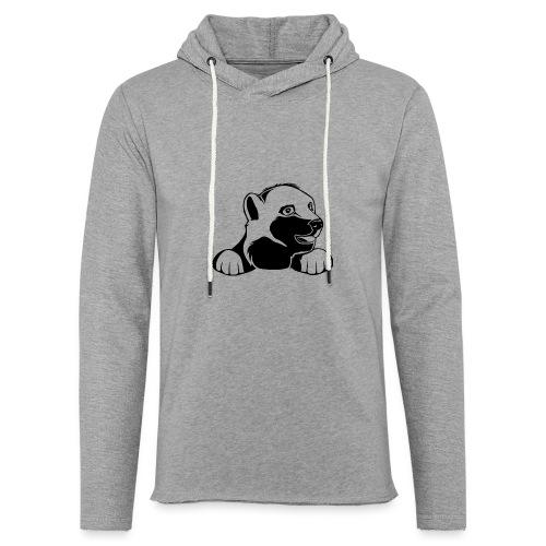 ijsbeer shirt - Lichte hoodie unisex