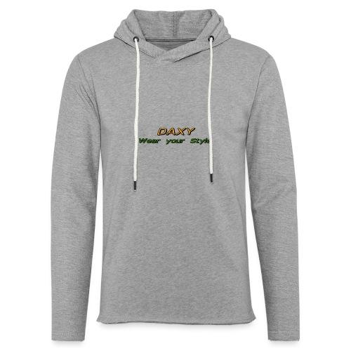 Herren Sixpack Shirt von DAXY - Leichtes Kapuzensweatshirt Unisex