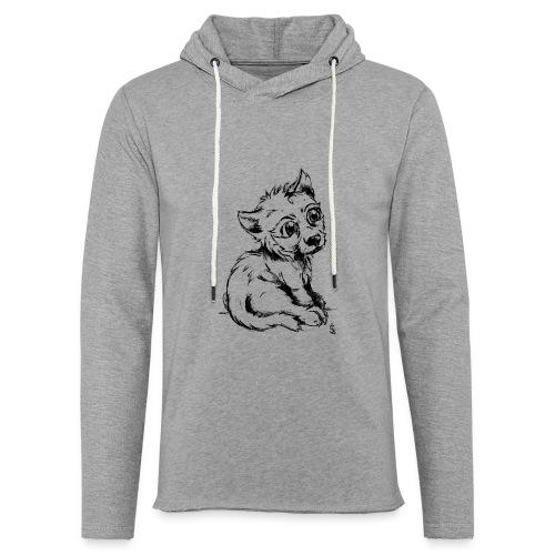 Louvetau - Sweat-shirt à capuche léger unisexe