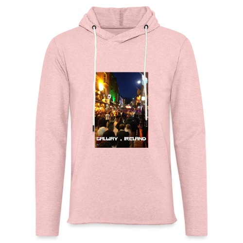 GALWAY IRELAND SHOP STREET - Light Unisex Sweatshirt Hoodie