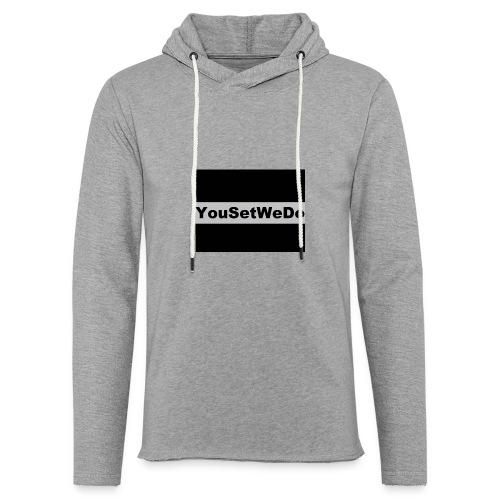 logo for case - Light Unisex Sweatshirt Hoodie