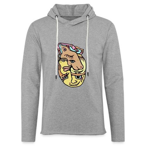 Unicake - Let sweatshirt med hætte, unisex