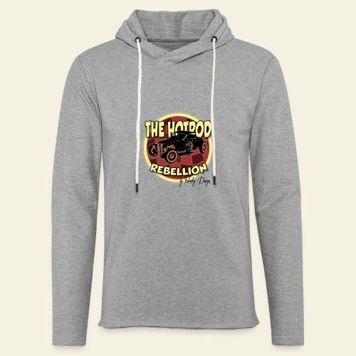 hotrod rebellion - Let sweatshirt med hætte, unisex