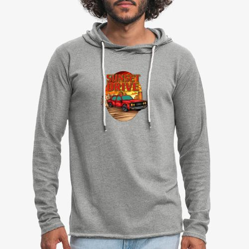 Sunset Drive - Sweat-shirt à capuche léger unisexe