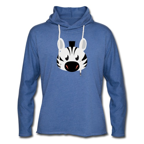 Zebra Zoe - Light Unisex Sweatshirt Hoodie