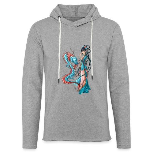 Blue Dragon - Sweat-shirt à capuche léger unisexe