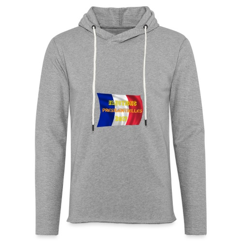 ELECTIONS 2017 - Sweat-shirt à capuche léger unisexe