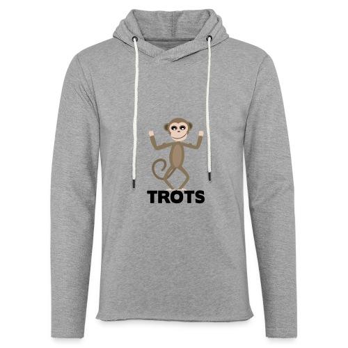 apetrots aapje wat trots is - Lichte hoodie unisex