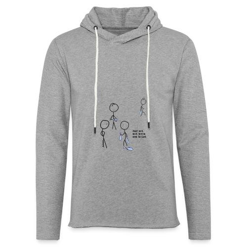 har sei png - Lett unisex hette-sweatshirt
