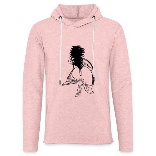vieux_casque_1c - Sweat-shirt à capuche léger unisexe