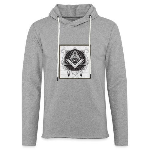 Illuminati - Sweat-shirt à capuche léger unisexe