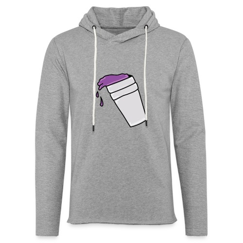 PurpleLean - Sweat-shirt à capuche léger unisexe