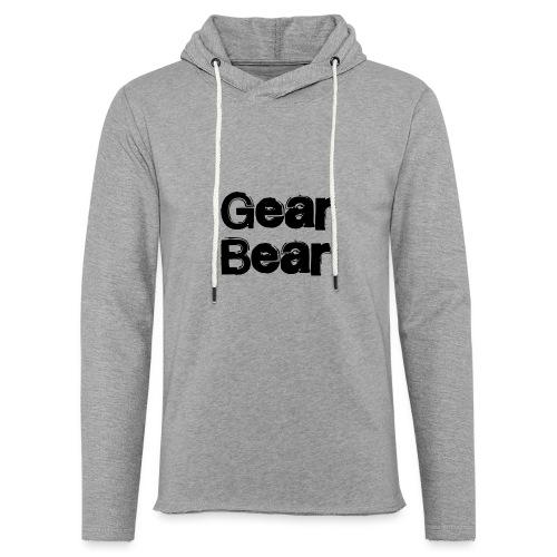 GearBear - Lett unisex hette-sweatshirt