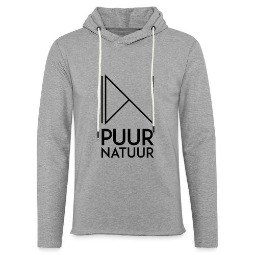 PUUR NATUUR FASHION BRAND - Lichte hoodie unisex