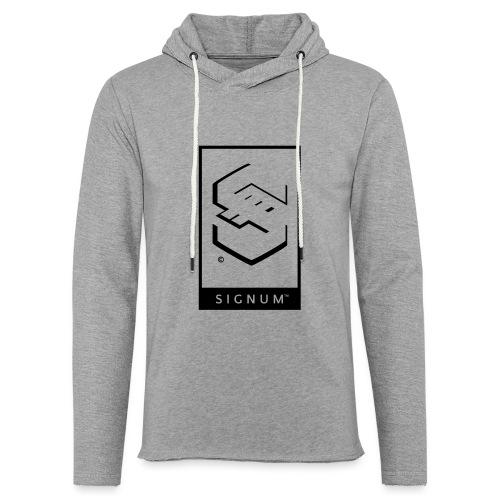 signumGamerLabelBW - Light Unisex Sweatshirt Hoodie
