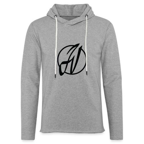 JV Guitars - logo noir - Sweat-shirt à capuche léger unisexe