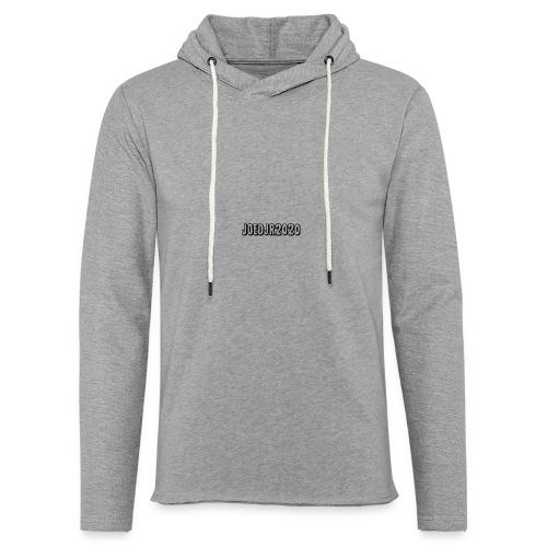 SECOND DESIGN JOEDJR2020 MERCH - Light Unisex Sweatshirt Hoodie