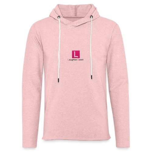 laughterdown official - Light Unisex Sweatshirt Hoodie