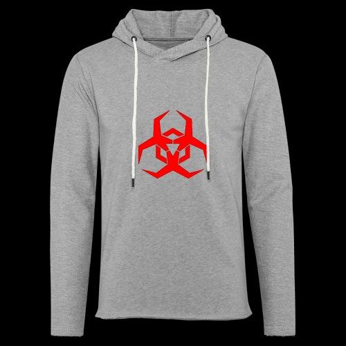 Radioaktive - Let sweatshirt med hætte, unisex