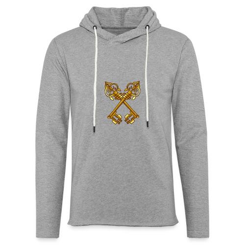 Sweat Simple avec logo au centre - Sweat-shirt à capuche léger unisexe
