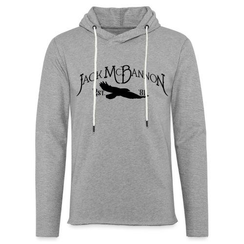 Jack McBannon - Crow 81 II - Leichtes Kapuzensweatshirt Unisex