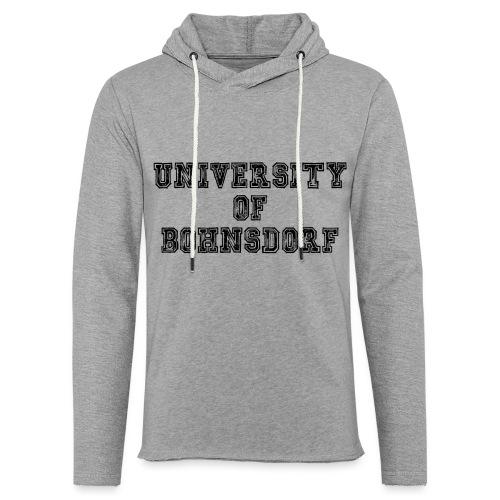 University of Bohnsdorf - Leichtes Kapuzensweatshirt Unisex