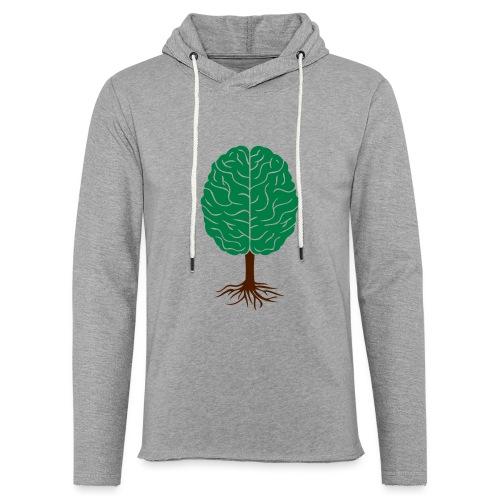 Brain tree - Lichte hoodie unisex