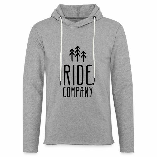 RIDE.company Logo - Leichtes Kapuzensweatshirt Unisex