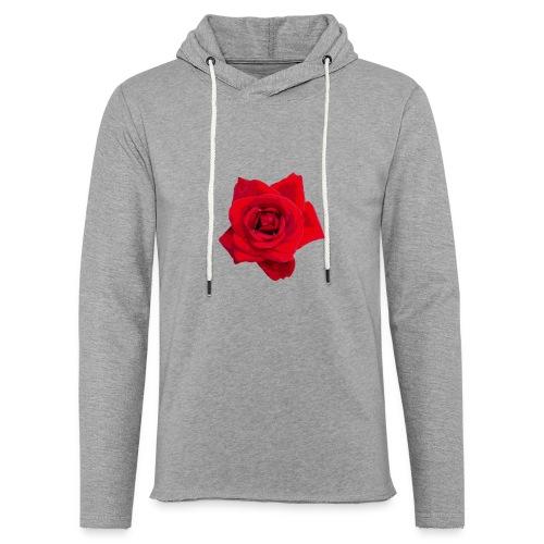 Red Roses - Lekka bluza z kapturem