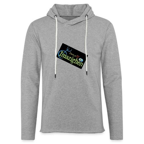 Imazighen ithran rif - Lichte hoodie unisex