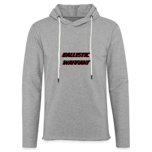 BallisticWarrrant - Lichte hoodie unisex