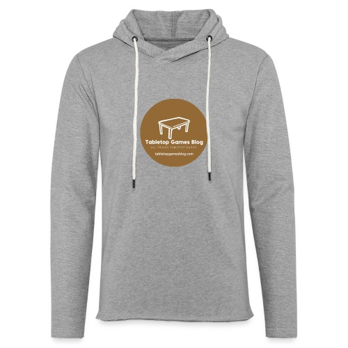 Circle Logo Brown - Light Unisex Sweatshirt Hoodie