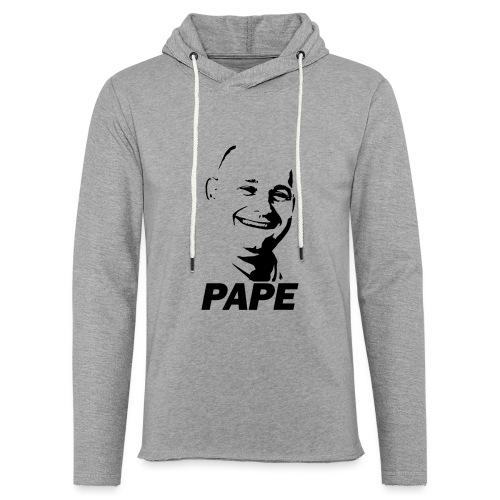 PAPE - Let sweatshirt med hætte, unisex