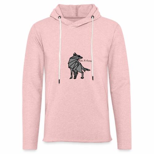 loup l'hiver vient - Sweat-shirt à capuche léger unisexe