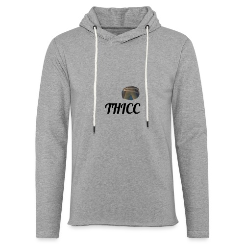 THICC Merch - Light Unisex Sweatshirt Hoodie