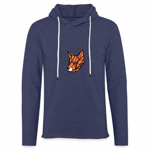 renard geometrique - Sweat-shirt à capuche léger unisexe