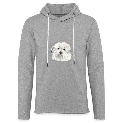 coton-de-tulear - Let sweatshirt med hætte, unisex
