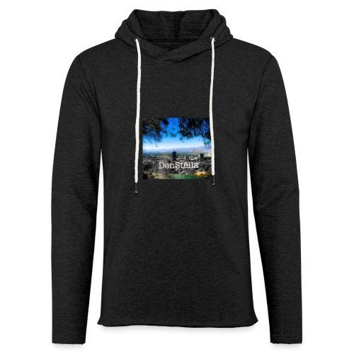 Denstella - Let sweatshirt med hætte, unisex