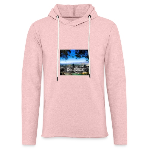 Denstella - Let sweatshirt med hætte, unisex